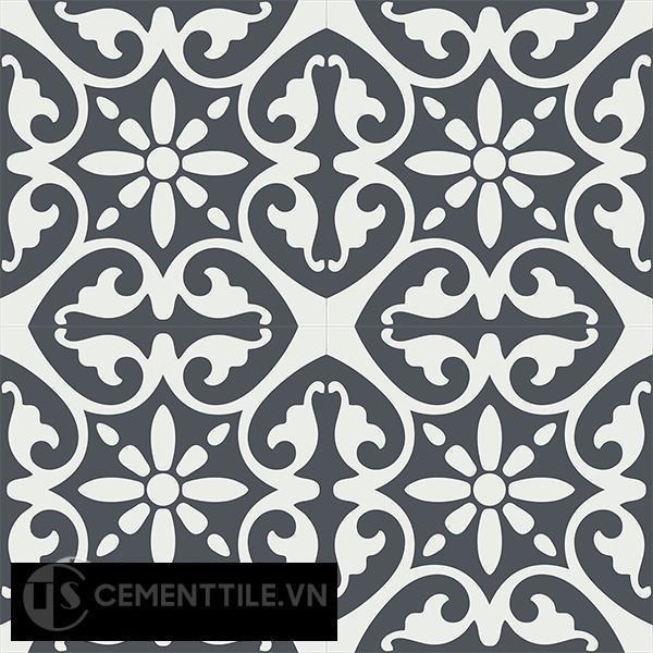Gạch bông CTS 47.2(4-32) - 4 viên - Encaustic cement tile CTS 47.2(4-32)-4 tiles
