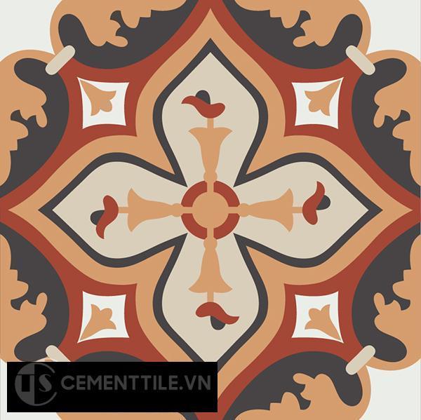 Gạch bông CTS 54.1(4-12-13-30-34) - Encaustic cement tile CTS 54.1(4-12-13-30-34)