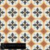 Gạch bông CTS 57.1(4-5-6-7-13) - 16 viên - Encaustic cement tile CTS 57.1(4-5-6-7-13)-16 tiles