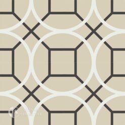 Gạch bông CTS 58.1(4-12-13) - 4 viên - Encaustic cement tile CTS 58.1(4-12-13)-4 tiles