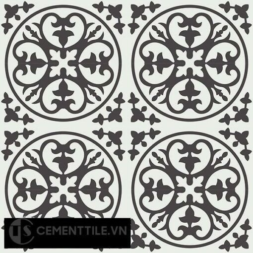 Gạch bông CTS 59.1(4-13) - 16 viên - Encaustic cement tile CTS 59.1(4-13)-16 tiles