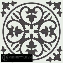Gạch bông CTS 59.1(4-13) - 4 viên - Encaustic cement tile CTS 59.1(4-13)-4 tiles