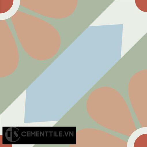 Gạch bông CTS 62.1(2-4-5-7-11) - Encaustic cement tile CTS 62.1(2-4-5-7-11)