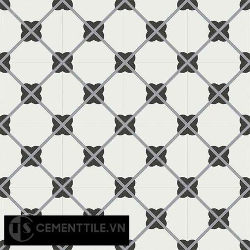Gạch bông CTS 66.1(4-6-13) - 16 viên - Encaustic cement tile CTS 66.1(4-6-13)-16 tiles
