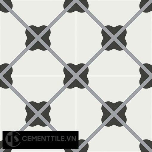 Gạch bông CTS 66.1(4-6-13) - 4 viên - Encaustic cement tile CTS 66.1(4-6-13)-4 tiles