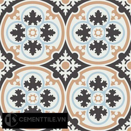 Gạch bông CTS 67.1(2-4-13-44) - 16 viên) - Encaustic cement tile CTS 67.1(2-4-13-44)-16 tiles