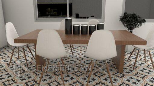 Gạch bông CTS 67.1(2-4-13-44)) - Encaustic cement tile CTS 67.1(2-4-13-44))