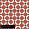 Gạch bông CTS 68.1(4-5-13) - 4 viên - Encaustic cement tile CTS 68.1(4-5-13)-4 tiles