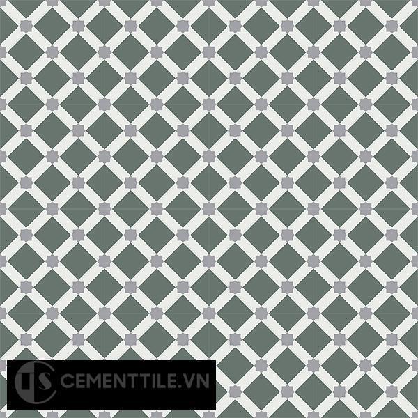Gạch bông CTS 68.3(3-4-9) - 16 viên - Encaustic cement tile CTS 68.3(3-4-9)-16 tiles