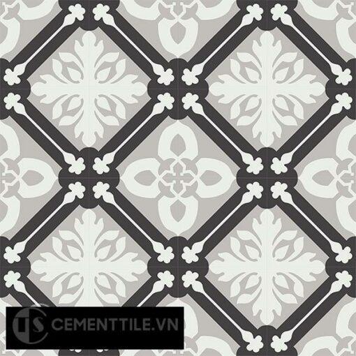 Gạch bông CTS 72.1(4-9-13) - 16 viên - Encaustic cement tile CTS 72.1(4-9-13)-16 tiles