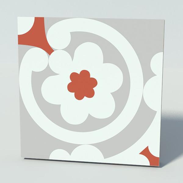 Gạch bông CTS 73.1(4-5-9) - Encaustic cement tile CTS 73.1(4-5-9)3d
