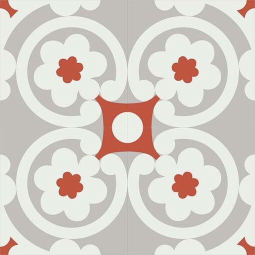 Gạch bông CTS 73.1(4-5-9) - 4 viên - Encaustic cement tile CTS 73.1(4-5-9)-4 tiles