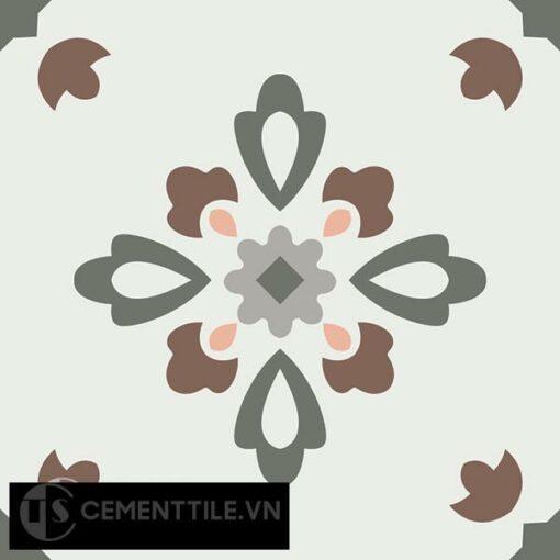 Gạch bông CTS 74.1(3-4-9-14-38) - Encaustic cement tile CTS 74.1(3-4-9-14-38)