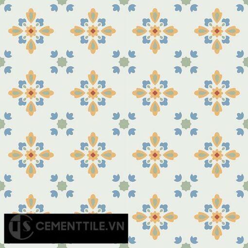 Gạch bông CTS 74.2(4-5-6-7) - 16 viên - Encaustic cement tile CTS 74.2(4-5-6-7)-16 tiles