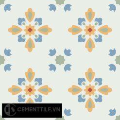 Gạch bông CTS 74.2(4-5-6-7) - 4 viên - Encaustic cement tile CTS 74.2(4-5-6-7)-4 tiles