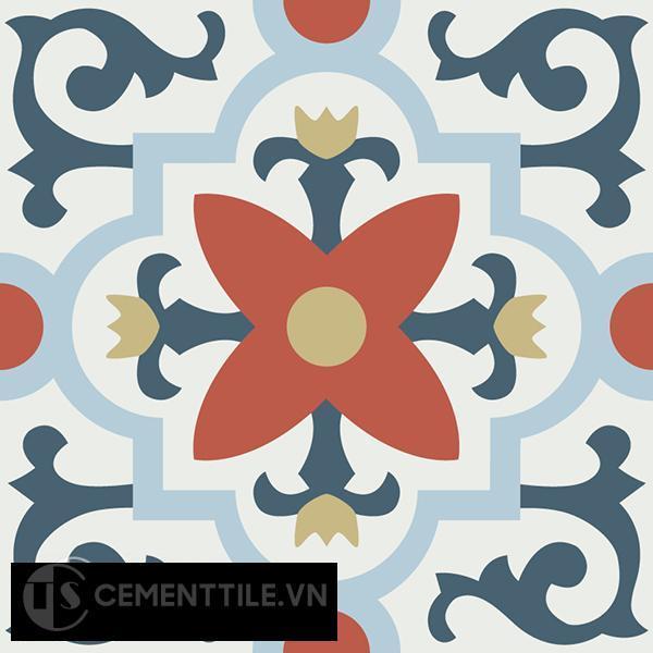 Gạch bông CTS 76.1(1-2-4-5-52) - Encaustic cement tile CTS 76.1(1-2-4-5-52)