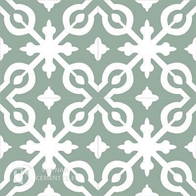 Gạch bông CTS 22.1(4-26)-4 viên - Encaustic cement tile CTS 22.1(4-26)-4 tiles