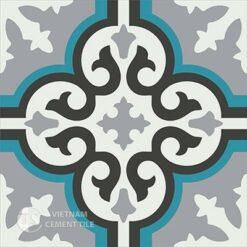Gạch bông CTS 1.10(4-9-13-57) - Encaustic cement tile CTS 1.10(4-9-13-57)