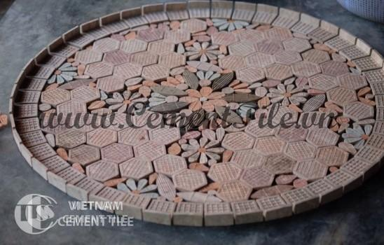 Handmade mosaic table CTS 03