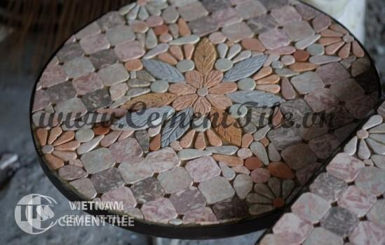 Handmade mosaic table CTS 07