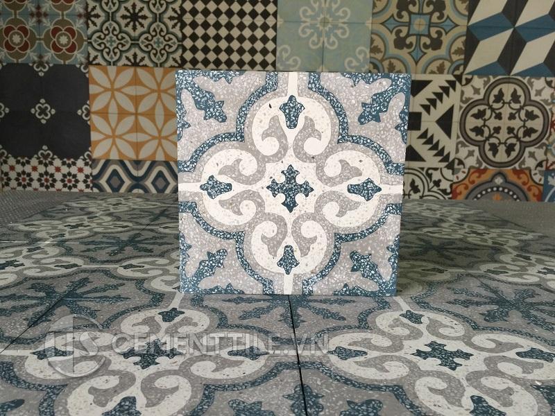 Gạch bông CTS TE-1.16(1-4-9) - Encaustic cement tile CTS TE-1.16(1-4-9)