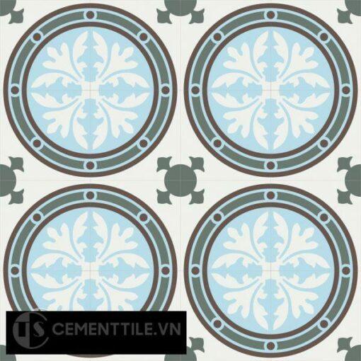 Gạch bông CTS 120.1(2-3-4-14) - 16 viên - Encaustic cement tile CTS 120.1(2-3-4-14)-16 tiles