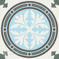 Gạch bông CTS 120.1(2-3-4-14) - 4 viên - Encaustic cement tile CTS 120.1(2-3-4-14)-4 tiles