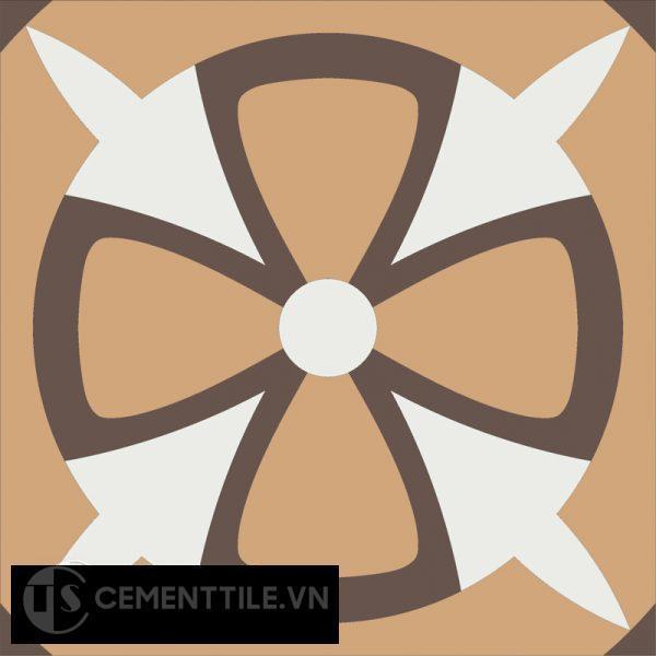 Gạch bông CTS 121.1(4-11-14) - Encaustic cement tile CTS 121.1(4-11-14)