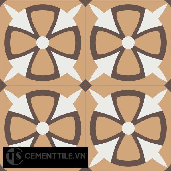 Gạch bông CTS 121.1(4-11-14) - 4 viên - Encaustic cement tile CTS 121.1(4-11-14)-4 tiles