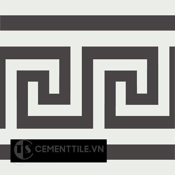 Gạch bông CTS B103.1(4-13) - Encaustic cement tile CTS B103.1(4-13)