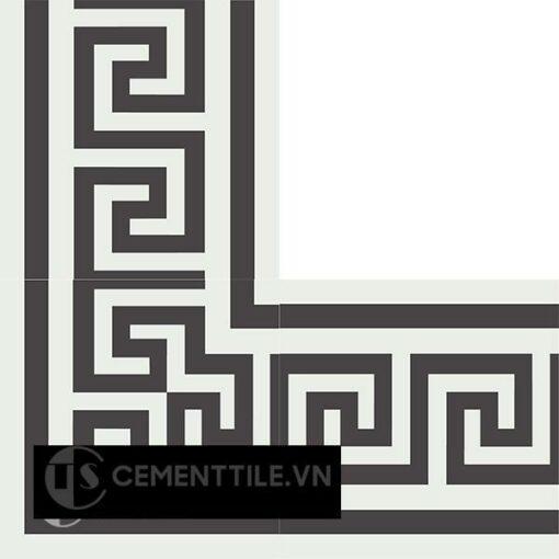 Gạch bông CTS BC103.1(4-13) - Encaustic cement tile CTS BC103.1(4-13)