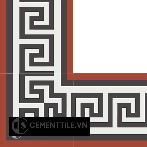 Gạch bông CTS BC103.2(4-13-30) - Encaustic cement tile CTS BC103.2(4-13-30)