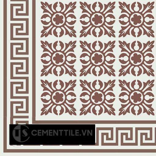 Gạch bông CTS BC103.4(4-14) - Encaustic cement tile CTS BC103.4(4-14)