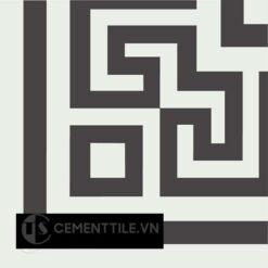 Gạch bông CTS C103.1(4-13) - Encaustic cement tile CTS C103.1(4-13)x