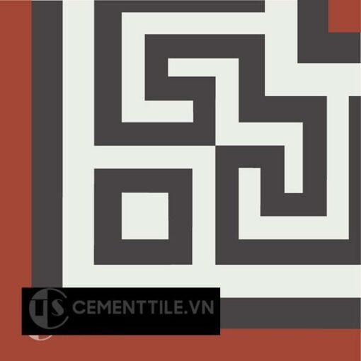 Gạch bông CTS C103.2(4-13-30) - Encaustic cement tile CTS C103.2(4-13-30)