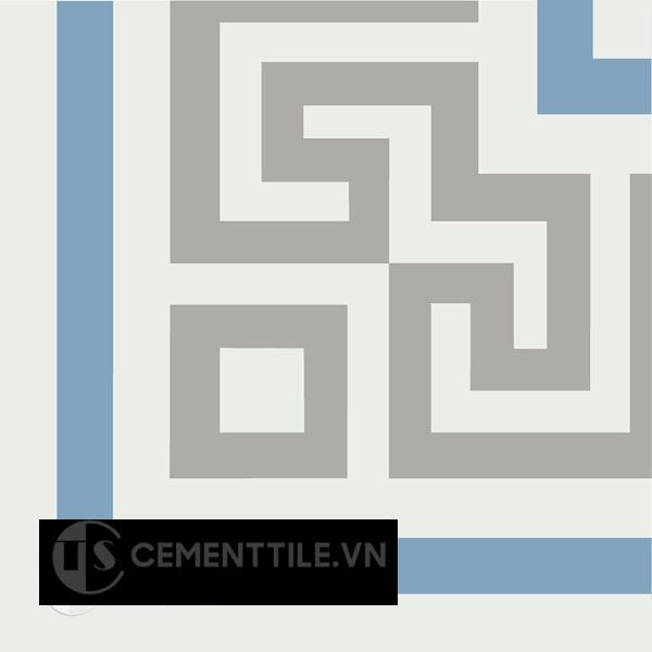 Gạch bông CTS C103.3(4-9-16) - Encaustic cement tile CTS C103.3(4-9-16)