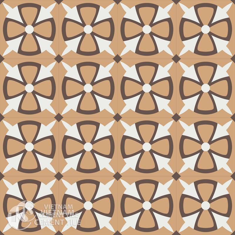 Encaustice cement tile CTS 121.1-16tiles
