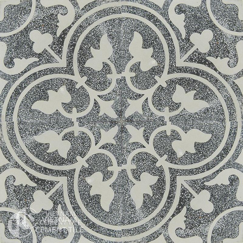 Encaustice Terrazzo tile CTS T101-4tiles
