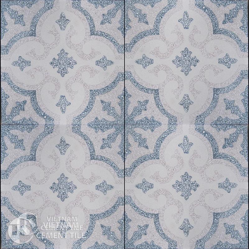 Encaustice Terrazzo tile CTS T102.1-4tiles