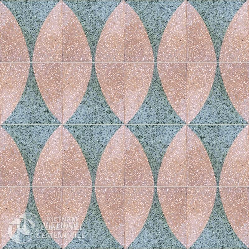 Encaustice Terrazzo tile CTS T105.1-16tiles