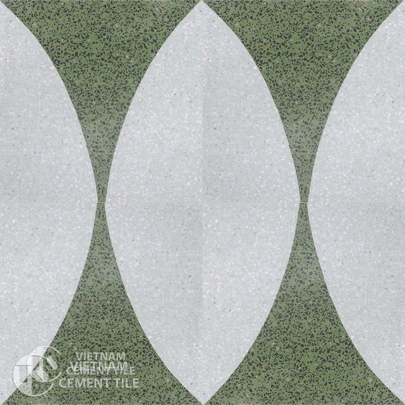 Encaustice Terrazzo tile CTS T105.4-4tiles