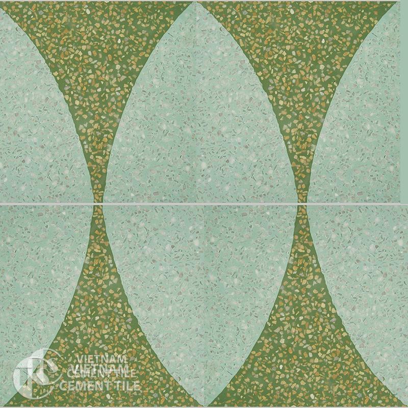 Encaustice Terrazzo tile CTS T105.5-4tiles