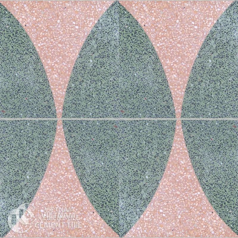 Encaustice Terrazzo tile CTS T105.2-4tiles