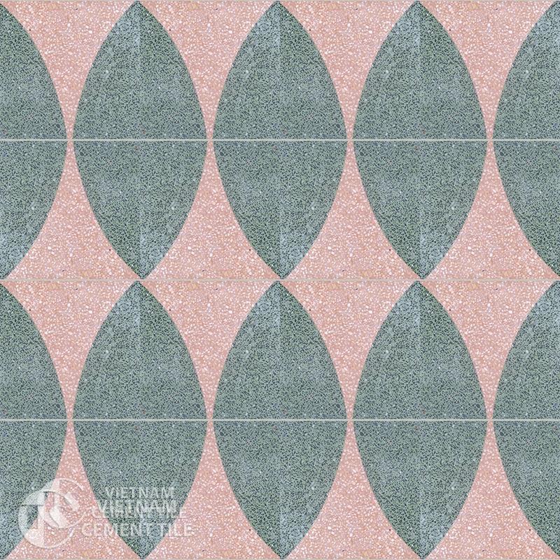 Encaustice Terrazzo tile CTS T105.2-16tiles