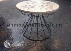 Handmade mosaic table CTS