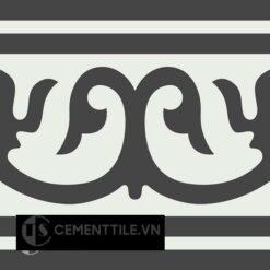Gạch bông CTS B102.2(4-13) - Encaustic cement tile CTS B102.2(4-13)