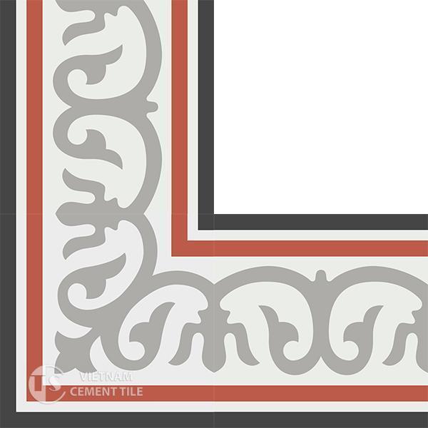 Gạch bông CTS BC102.1(4-5-9-13) - Encaustic cement tile CTS BC102.1(4-5-9-13)