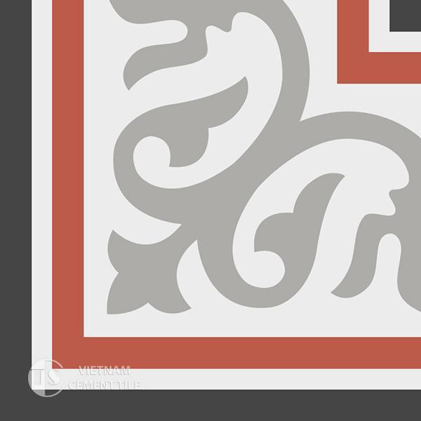 Gạch bông CTS C102.1(4-5-9-13) - Encaustic cement tile CTS C102.1(4-5-9-13)