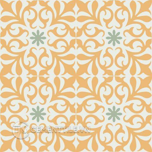 Gạch bông CTS 128.2(4-6-7) - 16 viên - Encaustic cement tile CTS 128.2(4-6-7) - 16 tiles