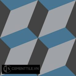 Gạch bông cổ điển CTS 13.5 - 4 viên ( Encaustic cement tile 13.5 - 4 tiles )